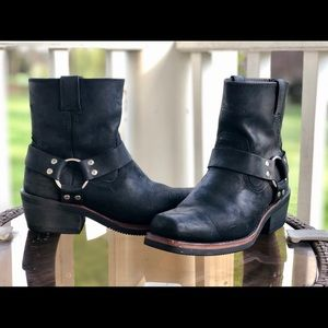 Harley Davidson Laredo Square Toe Harness Boots
